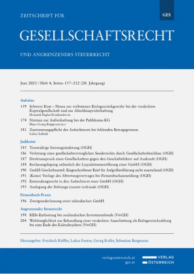 Entsendungsrecht in den Aufsichtsrat einer GmbH
