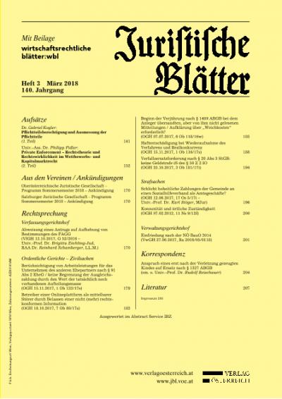 """Beginn der Verjährung nach § 1489 ABGB bei dem Anleger übersandten, aber von ihm nicht gelesenen Mitteilungen / Aufklärung über """"Weichkosten"""" erforderlich?"""