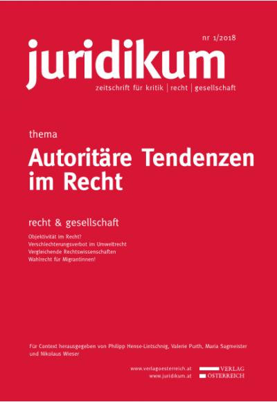 Thema: Autoritäre Tendenzen im Recht