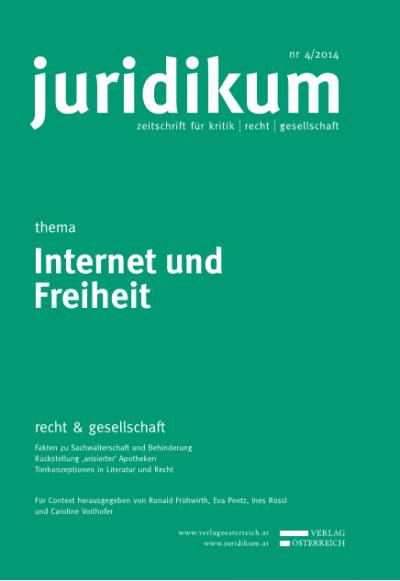 Relevanz des Urheberrechts bei der Entstehung (und Bewältigung?) von menschenrechtsbezogenen Konflikten im Internet