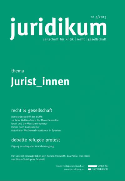 Von der Wiener Weltmenschenrechtskonferenz zu einem Weltgerichtshof für Menschenrechte