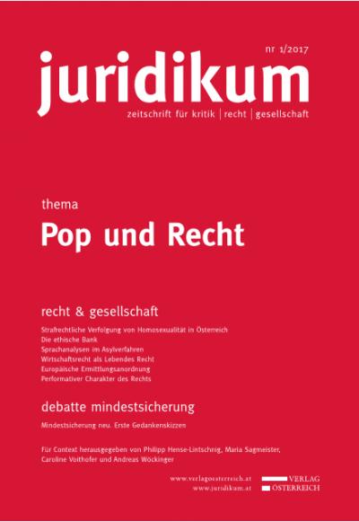 """""""Let there be pop"""": Ein popartiger-Stilversuch über Lehren in den Rechtwissenschaften"""