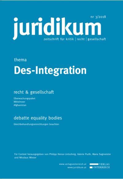 Thema: Des-Integration ; Vorwort der Gastherausgeber_innen
