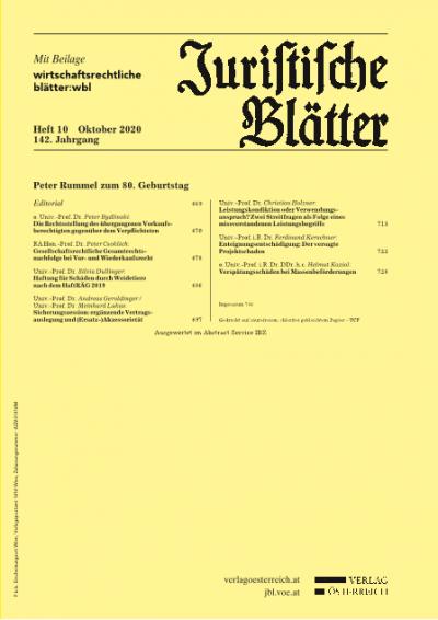 Peter Rummel – 80 Lebensjahre, 30 Jahre Schriftleiter der JBl