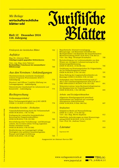 Hypothetische Alternativveranlagung: Behauptungs- und Beweislast betreffend das Marktgeschehen und Elemente der (hypothetischen) Marktentwicklung
