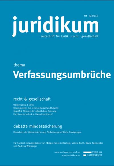 Verfassungsumbrüche durch Höchstrichter_innenbestellung?