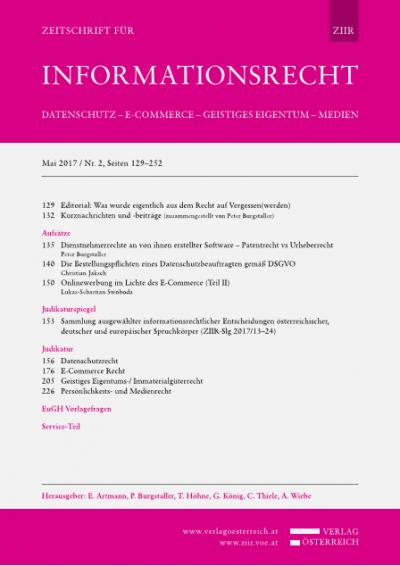 OGH, Beschluss 20.12.2016, 4Ob45/16w – Internationale Zuständigkeit bei Unionsmarken und nach UWG