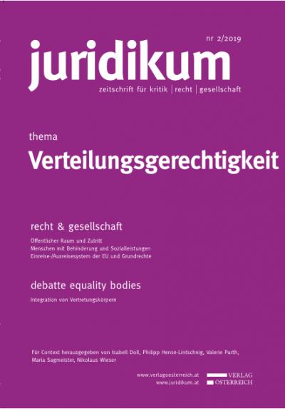 Sozio-ökonomische Ungleichheit und konventionsrechtliche Diskriminierungsverbote