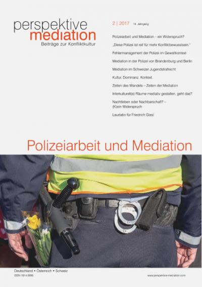Mediation in der Polizei von Brandenburg und Berlin