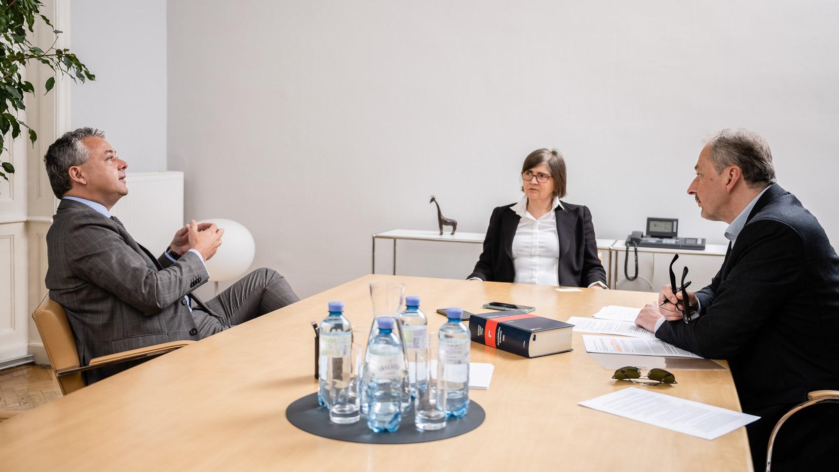 Im Interview: Eva-Maria Hausmann und Andreas Vonkilch