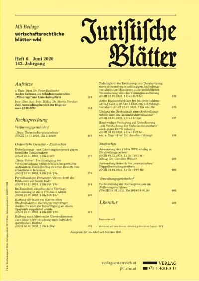 """An den Grenzen des Schadenersatzrechts: """"Pillenlüge"""" und Unterhaltspflicht"""