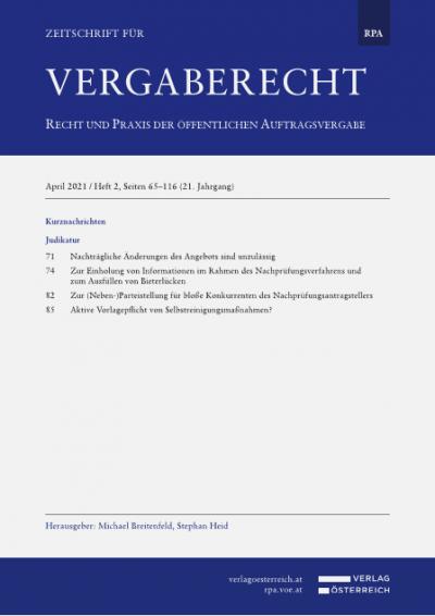 Bemessung der Nebenrechte nach der GewO 1994