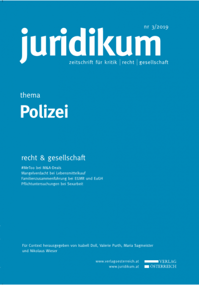 Effektiver Rechtsschutz gegen polizeiliches Handeln