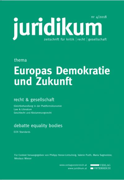 Europäische Republik: Von der EU-Rechtsgemeinschaft zur europäischen Demokratie?
