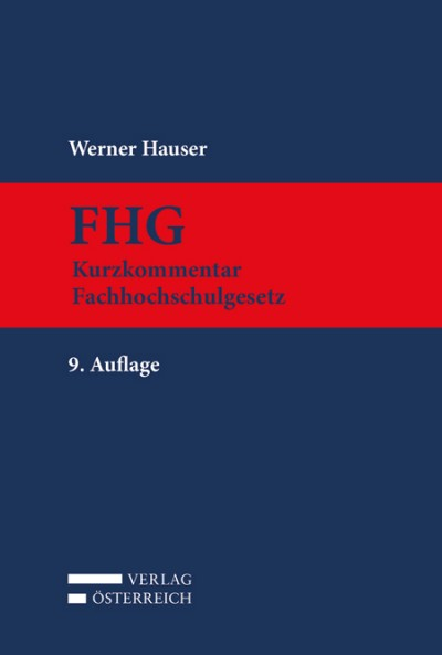 FHG Kurzkommentar Fachhochschulgesetz