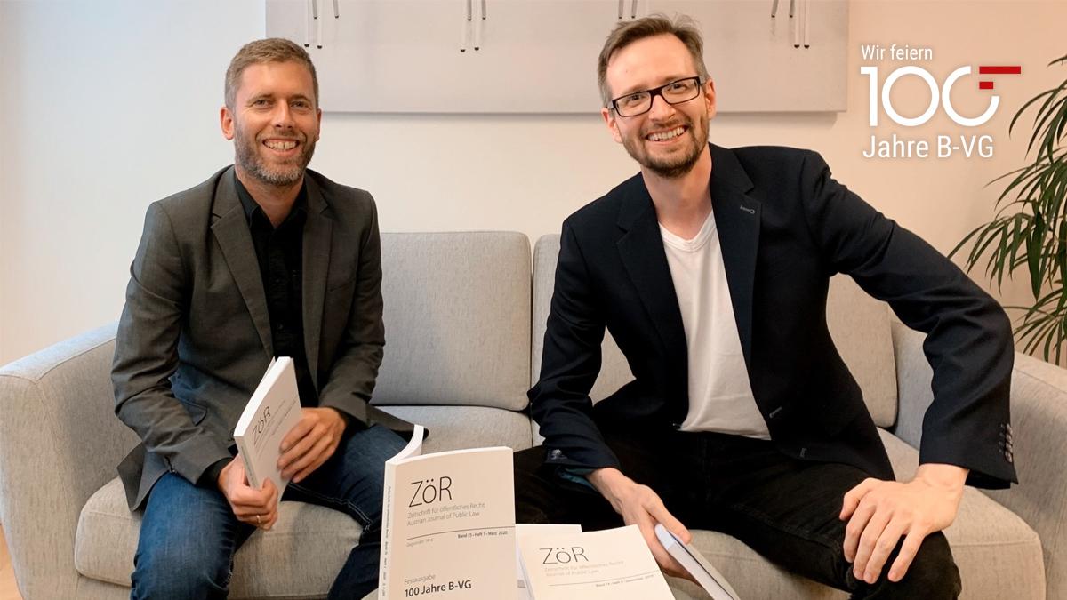 Im Interview: ZöR Herausgeber András Jakab & Sebastian Schmid