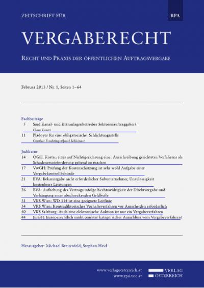 EuGH: Europarechtlich sanktionierter kategorischer Ausschluss vom Vergabeverfahren?